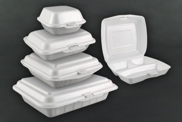 Food foam containers, robin packaging
