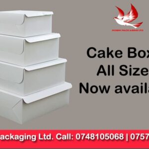cake boxes, robin packaging