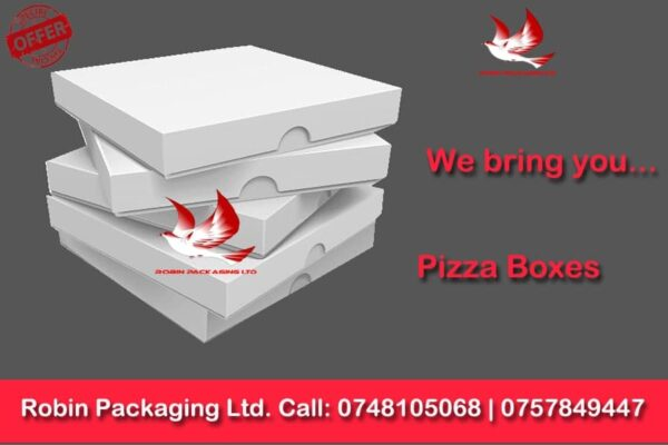 pizza boxes, robin packaging